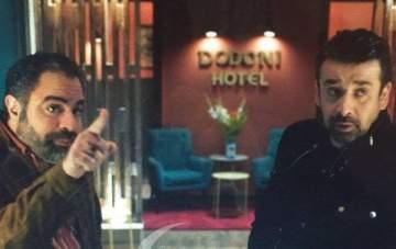 """كريم عبد العزيز ومحمد شاهين يواصلان تصوير """"الزيبق"""" باليونان"""