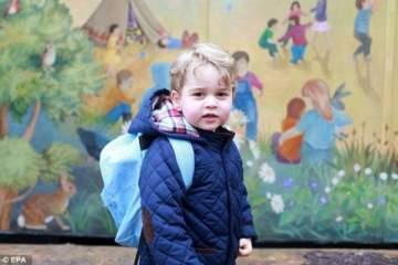 هذه تكلفة زي الأمير جورج المدرسي
