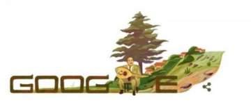 محرك البحث غوغل يحتفل بذكرى ميلاد وديع الصافي