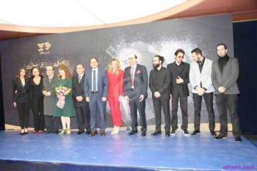 خاص وبالصور- منصور الرحباني يجمع النجوم في تكريمه من حزب الكتائب وهدى تطلب السماح