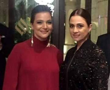 """بالصورة- جوليا بطرس تحضر العرض العالمي الأول لـ""""محبس"""" بمهرجان دبي السينمائي الدولي"""