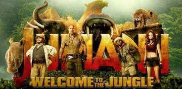 فيلم دوين جونسون Jumanji في الصدارة للأسبوع الثاني