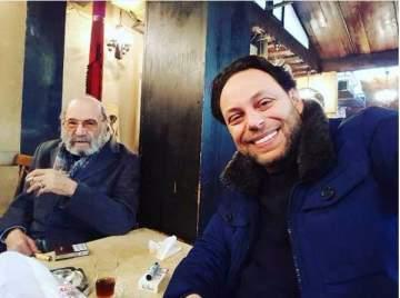 الظهور الأخير لـ رفيق سبيعي قبل رحيله.. بالصورة
