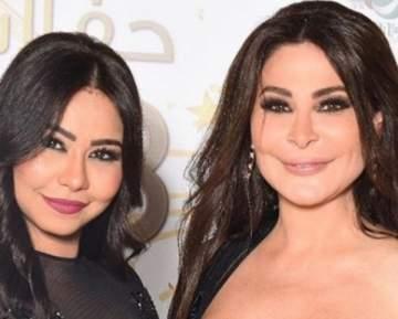 في أول ظهور لها بعد قرار منعها من الغناء.. شيرين عبد الوهاب تحتضن إليسا- بالفيديو