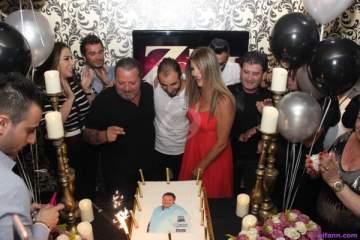 خاص بالصور-كميل أسمر يحتفل  بعيد ميلاده