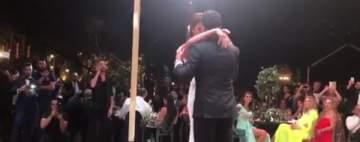 بالفيديو - الرقصة الأولى لـ وسام بريدي وريم السعيدي