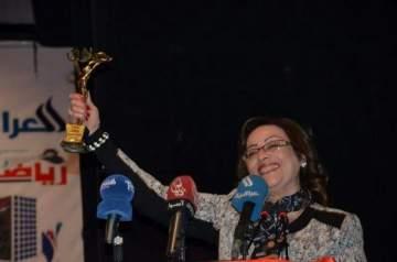 جائزة وتكريمات للإعلامية وداد حجاج في العراق..بالصور