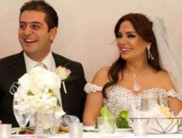 ريدا بطرس تحتفل بعيد زواجها وهذا ما قالته لزوجها.. بالصورة