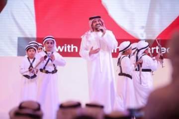 تكريم حسين الجسمي في إفتتاح