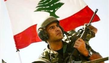 بالصورة- عاصي الحلاني يدعم الجيش اللبناني: الشرف عنوانك والتضحية ميدانك
