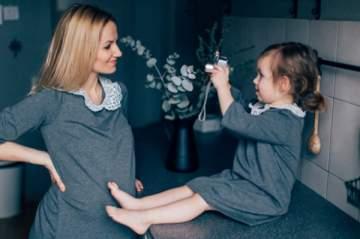 الملابس المطابقة في عيد الأمّ على طريقة  Relooking by Rita