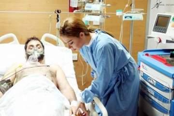 حقيقة صورة يوسف حداد في المستشفى
