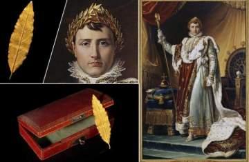 عرض ورقة شجر من تاج نابوليون للبيع بالمزاد برقم خيالي