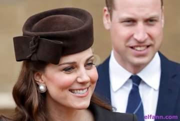 الأمير وليام وكيت ميدلتون يستقبلان مولدهما الثالث