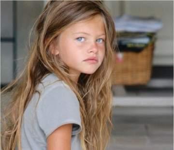 هكذا أصبحت أجمل طفلة في العالم بعد ١٠ سنوات