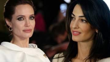 هل فعلاً أنجلينا جولي تغار من أمل كلوني؟