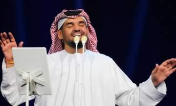 حسين الجسمي يعلن عن استعداده للاحتفال مع المصريين ويغني لهم مباشرة على الهواء