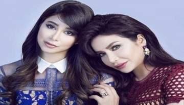 الشقيقتان أسيل ولجين عمران تقضيان أوقاتا مرحة سويّا...بالفيديو