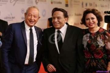 افتتاح مهرجان الجونة السينمائي بتكريم عادل إمام ولفظ خارج وصادم من أحمد الفيشاوي