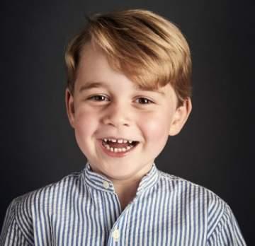 صورة شخصية جديدة للأمير جورج احتفالاً بعيد ميلاده الرابع