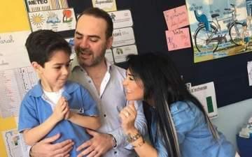 """وائل جسار يحتفل بعيد ميلاد نجله """"وائل جونيور""""..بالصور"""