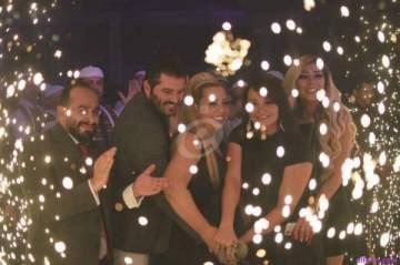 خاص بالصور- النجوم يحتفلون بعيد ميلاد يزن السيد وتولين البكري