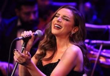 أنغام تحيي حفلاً جماهيرياً  في دار الأوبرا المصرية