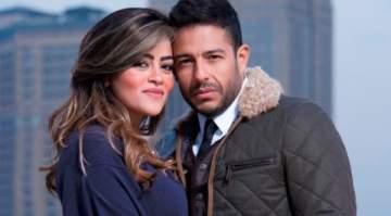 هل أشعلت قبلة إليسا لمحمد حماقي غيرة زوجته؟ إليكم ردّة فعلها