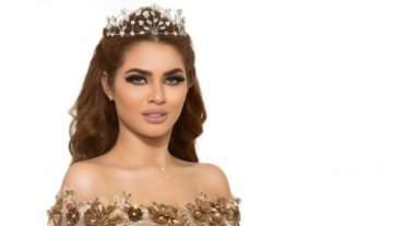 ملكة جمال العرب ترفض الوقوف امام النجم العربي