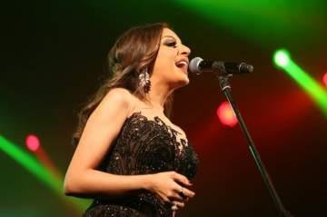 انغام تنتهي من تسجيل أغنية خليجية وأخرى مصرية