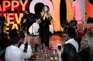 نوال الزغبي ملحم زين وغي مانوكيان في أقوى حفلات رأس السنة- بالصور