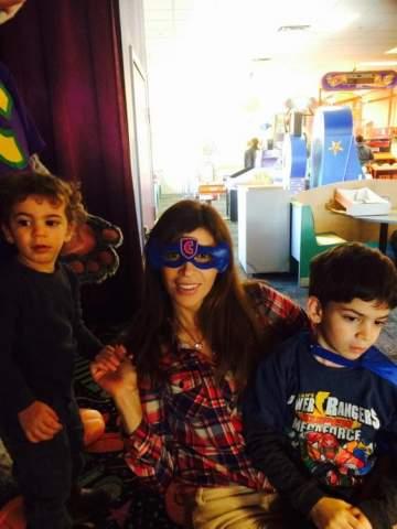 ريتا برصونا تحتفل بعيد ميلاد إبنها.. بالصور