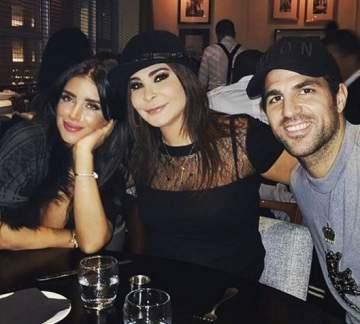اليسا تستمتع في لندن مع سيسك فابريغاس وحبيبته اللبنانية