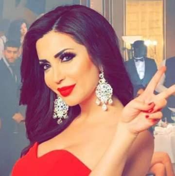 بالصورة: نسرين طافش تثير الجدل بملابسها!