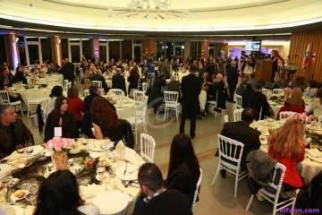 خاص بالصور - جامعة سيدة اللويزة تجمع الإعلاميين في العشاء السنوي
