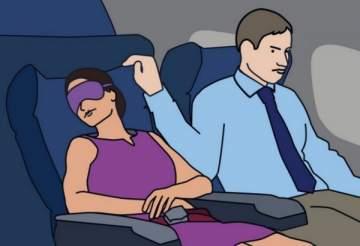 نجمة توثّق حادثة تعرضها للتحرش الجنسي على متن طائرة