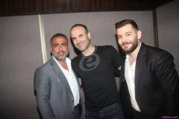 خاص بالصور - أيمن زبيب وحسام جنيد في حفل ضخم ناجح!