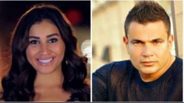 عمرو دياب يفاجئ دينا الشربيني بهدية غير متوقعة إثباتاً لحبه لها