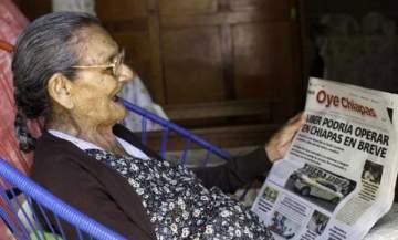 إمرأة تحقق حلمها.. في عمر يناهز الـ100