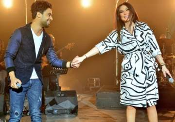 أحمد جمال يتغزّل بـ إليسا.. بالصورة