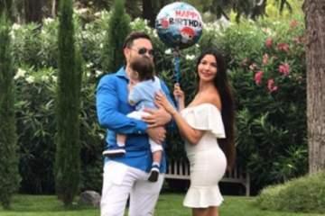 هكذا إحتفلت لاميتا فرنجية بعيد ميلاد إبنها الأول.. بالصور