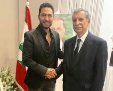 فادي حرب يحتفل بعيد الاستقلال مع السفير اللبناني في تونس