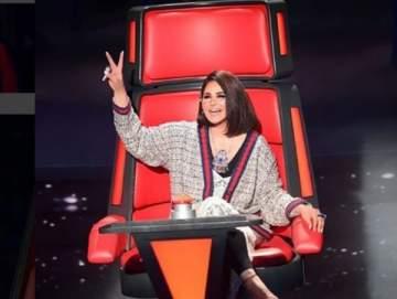 هل قصدت أحلام مهاجمة وائل جسار في The voice؟