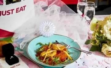 طلب الزواج من طبق دجاج