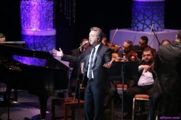 خاص بالصور- مروان خوري يتألق في دار الأوبرا المصرية أمام جمهور كبير