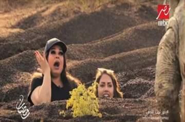 سيمون وسما المصري تسخران من فيفي عبده مع رامز جلال