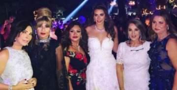 إيناس الدغيدي تحتفل بزفاف إبنتها بحضور عدد كبير من المشاهير.. بالصور