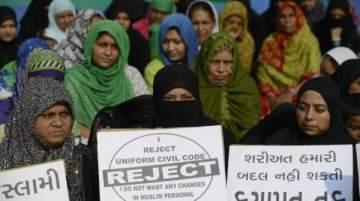 حظر الطلاق بالثلاثة في الهند