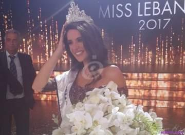 هذا هو حبيب ملكة جمال لبنان بيرلا حلو.. بالصور