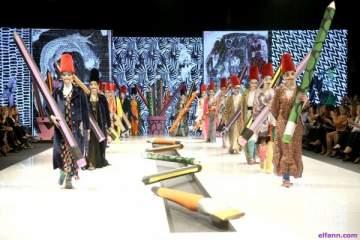 أسبوع الموضة في بيروت ينطلق بمجموعة جريئة بتوقيع أمل أزهري